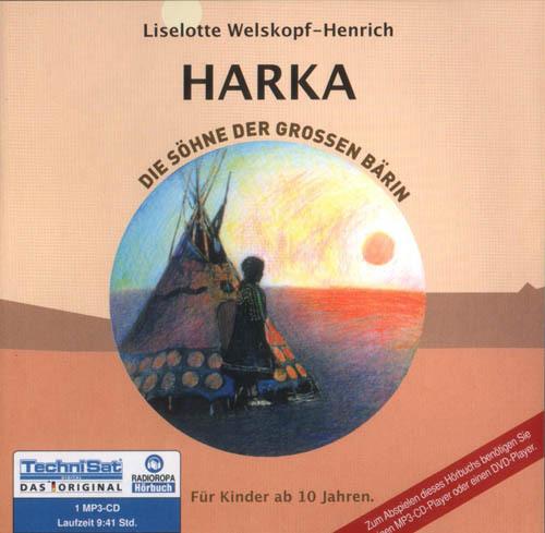 Die Söhne der großen Bärin - Teil 1 - Harka Hörbuch