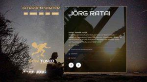 Gitarrenskater Jörg Ratai
