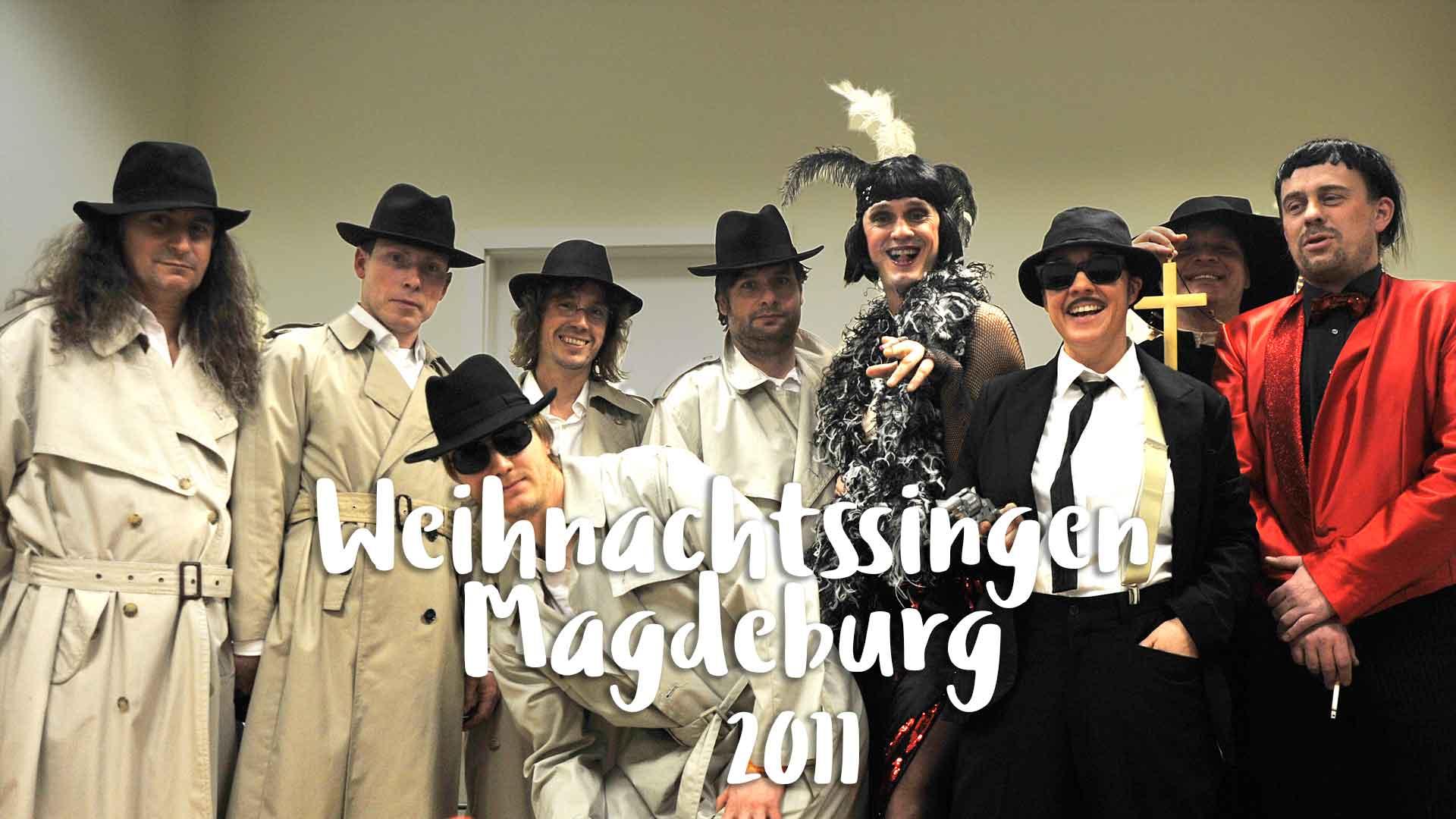 Weihnachtssingen Magdeburg 2011